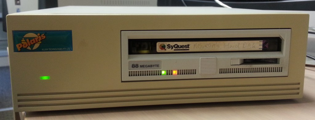 The SQ5110 in External Case