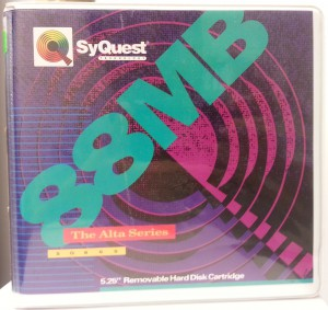Syquest 88Mb Cartridge Case