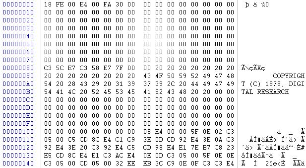 Kaypro CPM Data