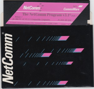 Netcomm Program Disk Front