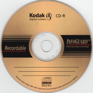 kodak ds cd-r 74min top