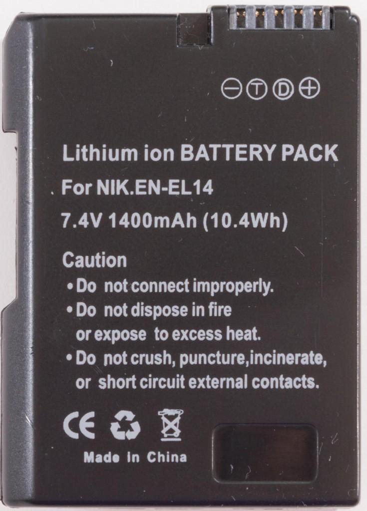 EN-EL14 Clone Battery