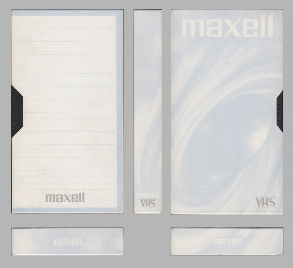 Maxell GX Blue-White