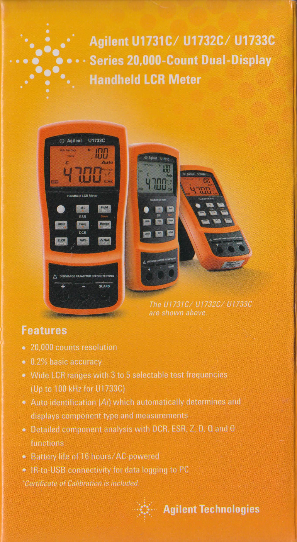 Quick Review: Agilent Technologies U1733C Handheld LCR Meter