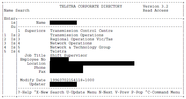Telstra Corporate Directory V3-2