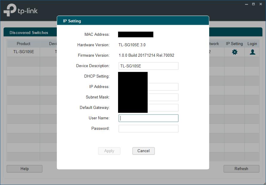 Not So Smart: TP-Link TL-SG105E V3 0 5-Port Gigabit Easy Smart